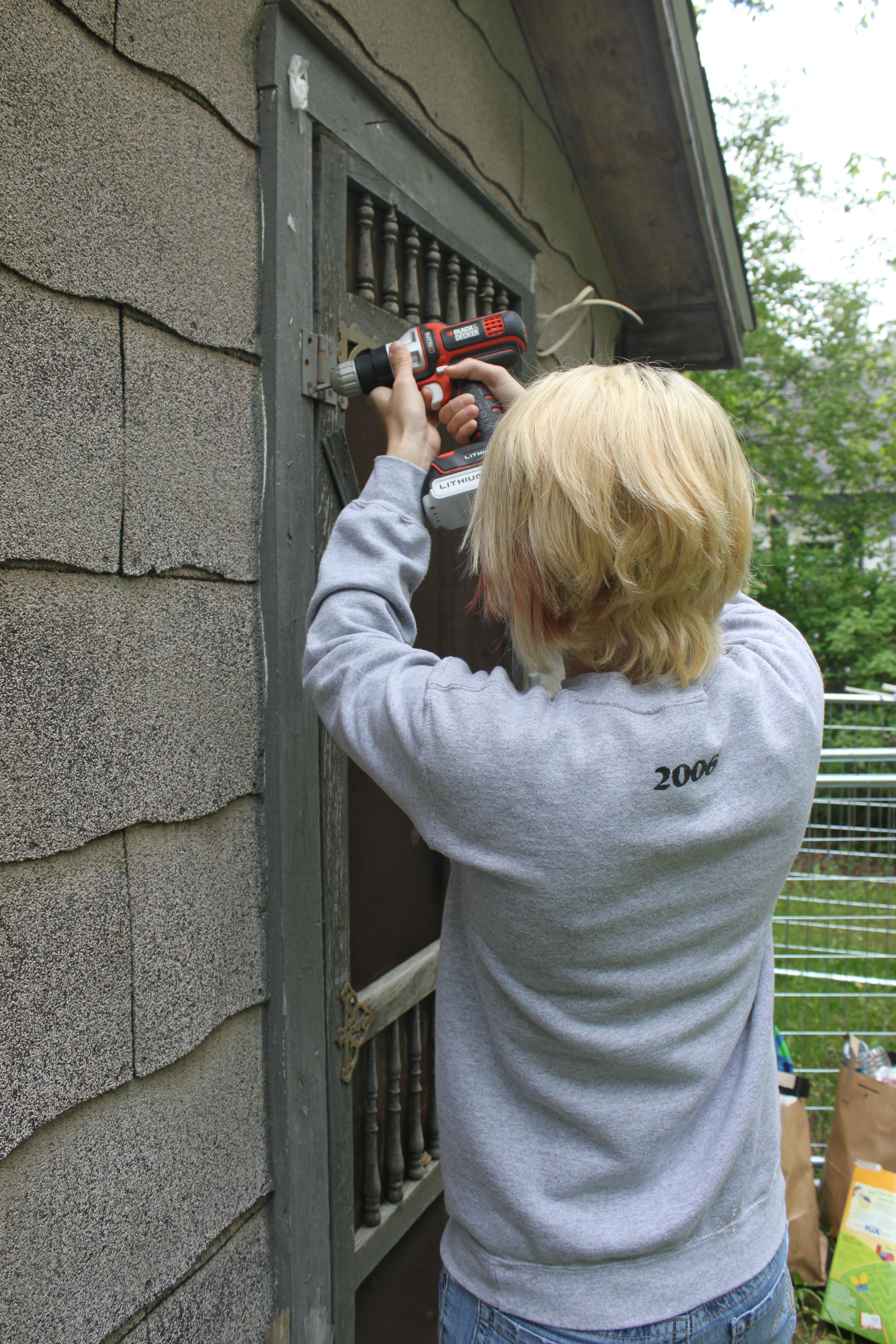 Saving Our Pantry Screen Door