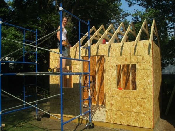Building A Chicken Coop Part 2 Scott Family Homestead
