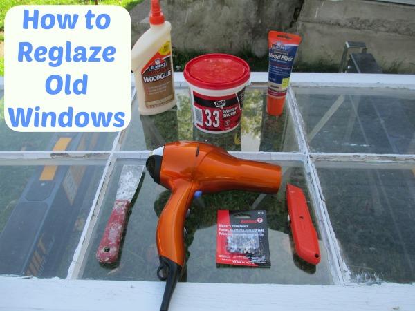 How to Reglaze Windows
