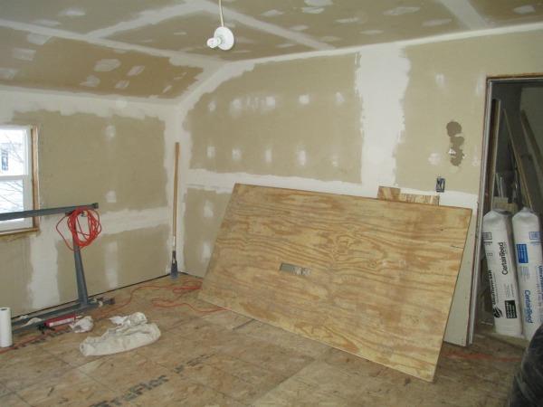 Master Bedroom New Subfloor