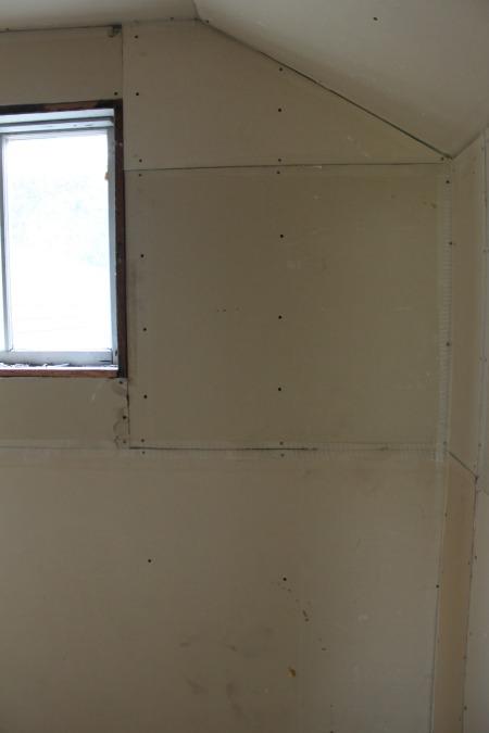 Old Hallway Drywall