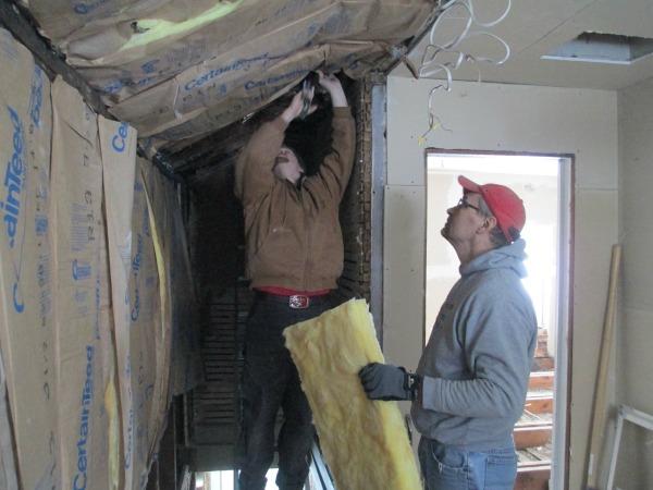 Stairway Insulation
