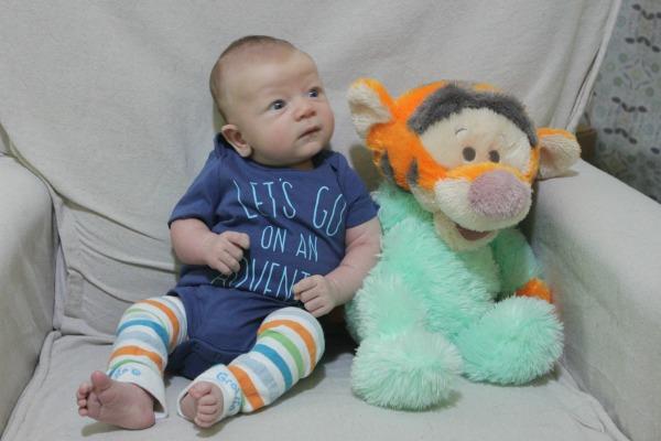 Harrison 2 Month Tigger
