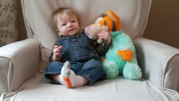 Harrison tigger 9 months